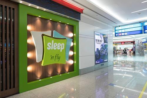sleep n fly sleep lounge